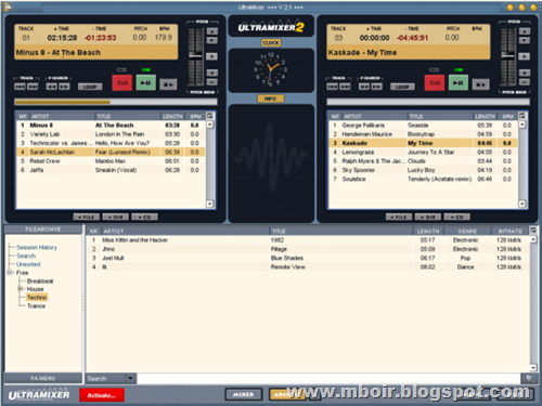 Ultramixer Virtual DJ Software - mboir