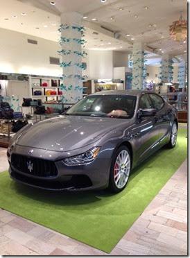 Maserati Ghibli Neiman Marcus