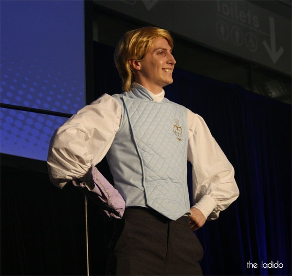 Supanova Sydney 2013 - Madman Cosplay Competition Saturday - Gilderoy Lockhart from Harry Potter