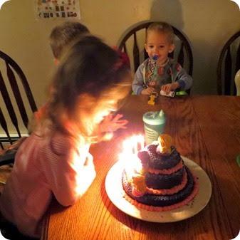 Elaine's 5th Birthday