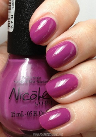 Nicole by OPI Feeling Grapeful