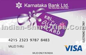 KBL gift card