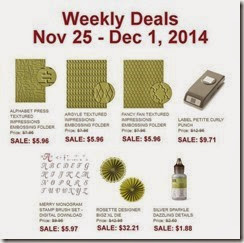 weeklly deals nov 26