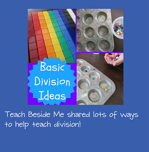 Hands on Math Games for Division