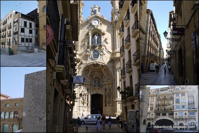 San Sebastian - old part