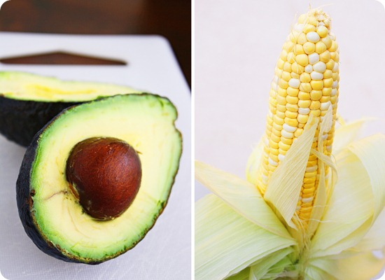 Avocado and Corn
