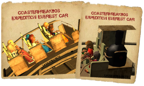 Coasterfreak90s Expedition Everest Car (lassoares-rct3) II