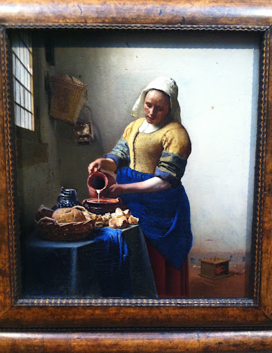 Vermeer's Kitchen Maid