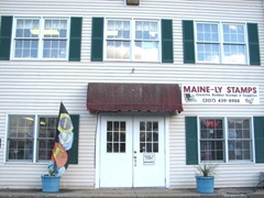 11.2011 Mainely Stamp front of store 2 Kittery
