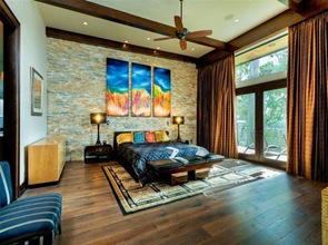 habitacion-moderna-decoracion-Residencia-LeBlanc-Cox