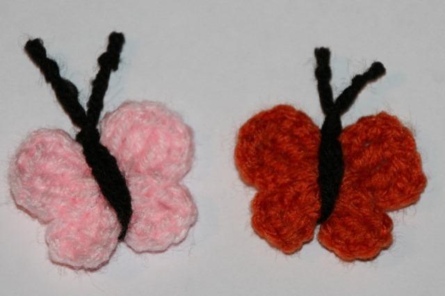 Pink and Orange Bflies