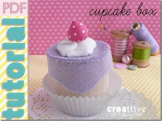 creattivecompagnie- tutorial - CUPCAKE BOX