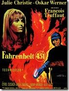 affiche Farenheit 451