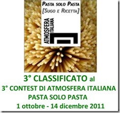 TARGA 3&#176; PREMIO