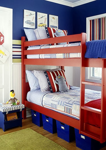 transport-themed-shared-boys-bedroom