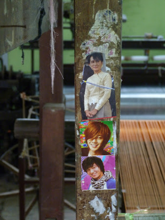 Tesatorie de matase din Myanmar