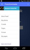 Screenshot of MyPhotoDownloader for Facebook