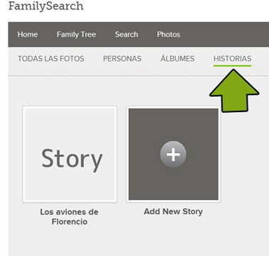 familysearch story