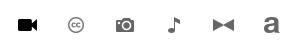 YouTube Editor-tool bar