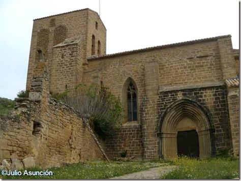 Iglesia gótica de San Salvador - Gallipienzo