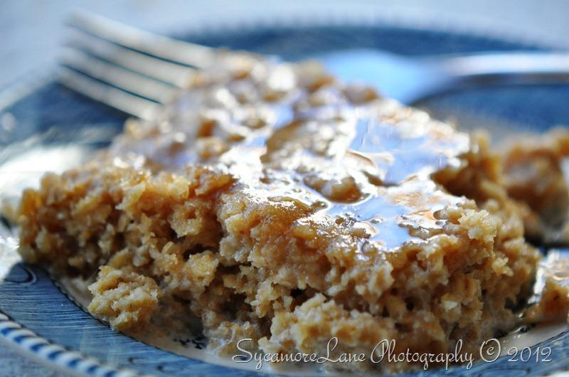 PB baked oatmeal
