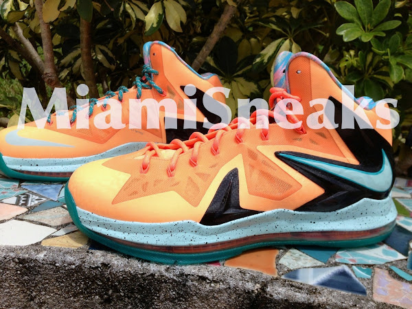 Nike LeBron X PS Elite EYBL aka Shooting Stars PE