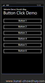 1. Simple Demo UI