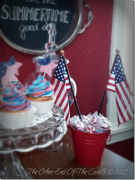 Cheap Patriotic Centerpiece