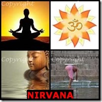 NIRVANA- 4 Pics 1 Word Answers 3 Letters