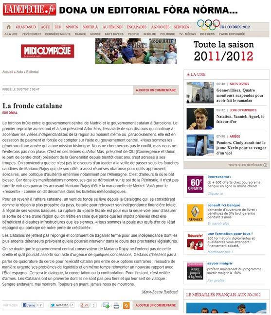 editorial la DDM fòra nòrma