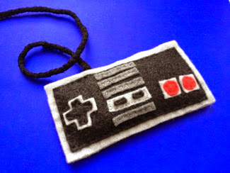 NES Controller Catnip TOy from Felty Spice