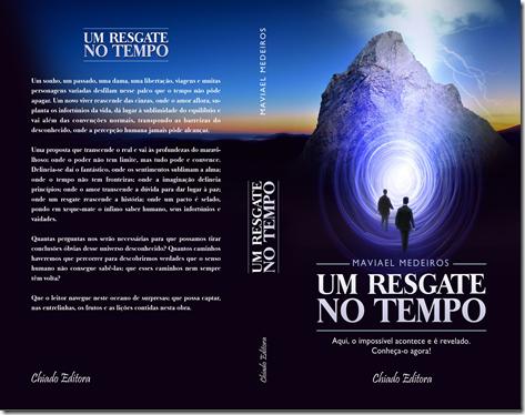 capa e contracapa do livro Um Resgate no Tempo