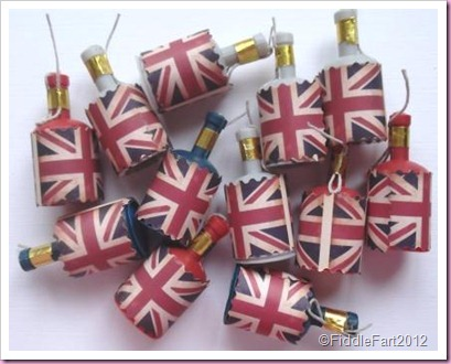 Diamond Jubilee Crafts Party Poppers.