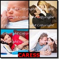 CARESS- 4 Pics 1 Word Answers 3 Letters