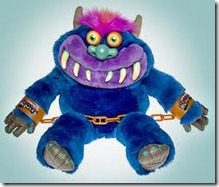 Jeremy Scott Adidas Shackle shoe inspiration My Pet Monster