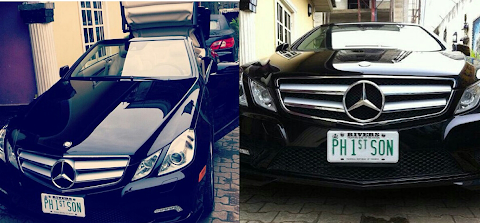 Duncan Mighty Shows Off His Fantastic 2012 Mercedes E-Class Convertible
