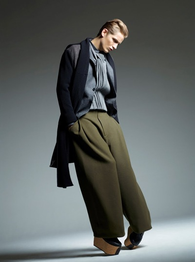 Peter Bruder @ FM/DNA  by Fred Jacbons for WAD #51 (DEC/JAN/FEB 2012). Styled by Benoit Martinengo.