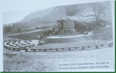 Zion S CG amphitheater