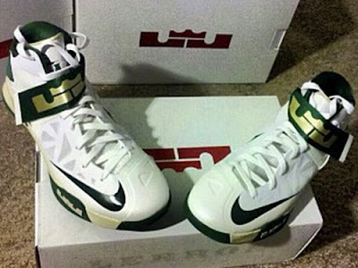 nike zoom soldier 6 pe svsm white home 1 01 Nike Zoom LeBron Soldier VI Version No. 5   Home Alternate PE