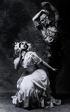 Tamara Karsavina and Vaslav Nijinsky