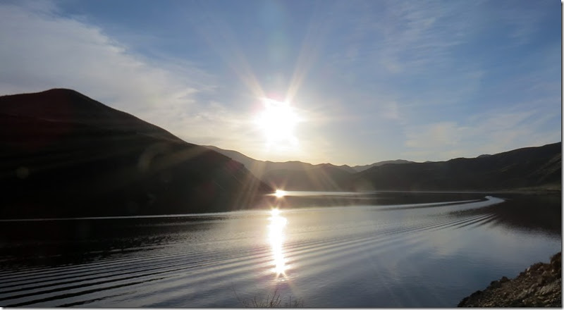 Lucky Peak Lake