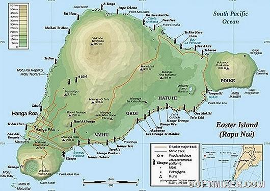 Мягкий климат  острова Пасхи и вулканическое происхождение должны были бы сделать его райским уголком
