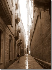 The Barri Gòtic retains a labyrinthine street plan, with many small streets opening out into squares.