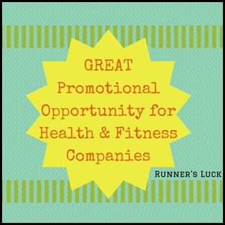 GREAT Promotional Opportunity for Health and Fitness Companies
