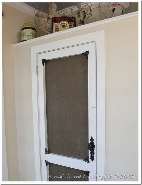 screen door on the closet