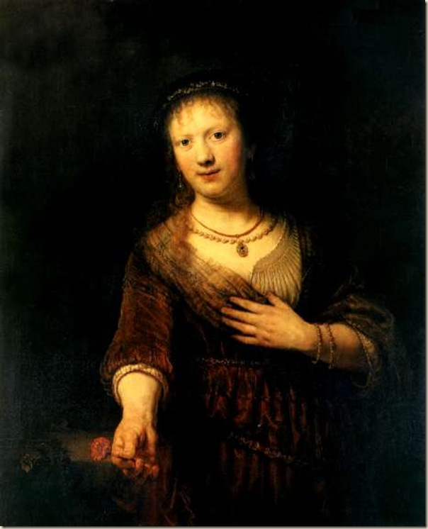 Rembrandt, Saskia