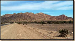 Looking to the south of Quartzsite