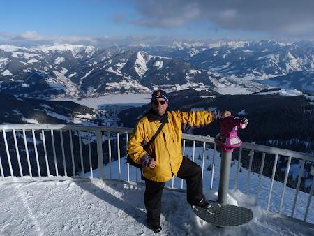 Deasupra Alpilor in Zell am See