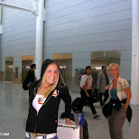 toronto pearson airport- leontien and jose in Mississauga, Ontario, Canada