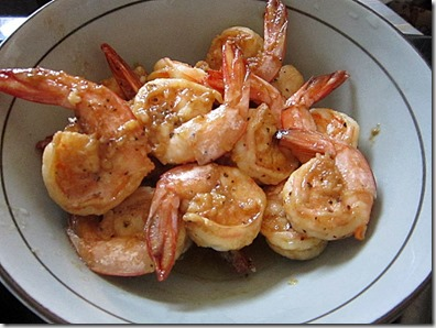 mb's garlic shrimps, 240baon